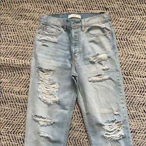 Brand New** Abercrombie Mom jeans
